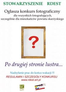 Konkurs Po drugiej stronie lustra - Stowarzyszenie RDEST