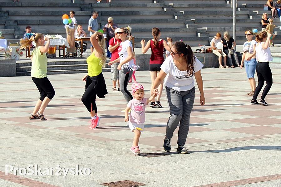 Charytatywny maraton zumby dla Łukasza Tusznio