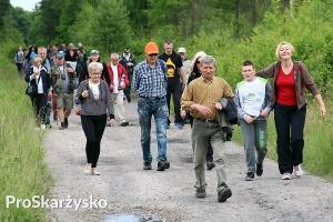 Marszobieg powiatowy - Starostwo Powiatowe w Skarżysku-Kamiennej
