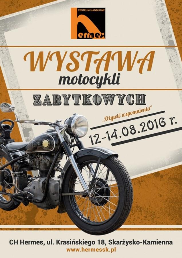 Wystawa zabytkowych motocykli - Centrum Handlowe Hermes