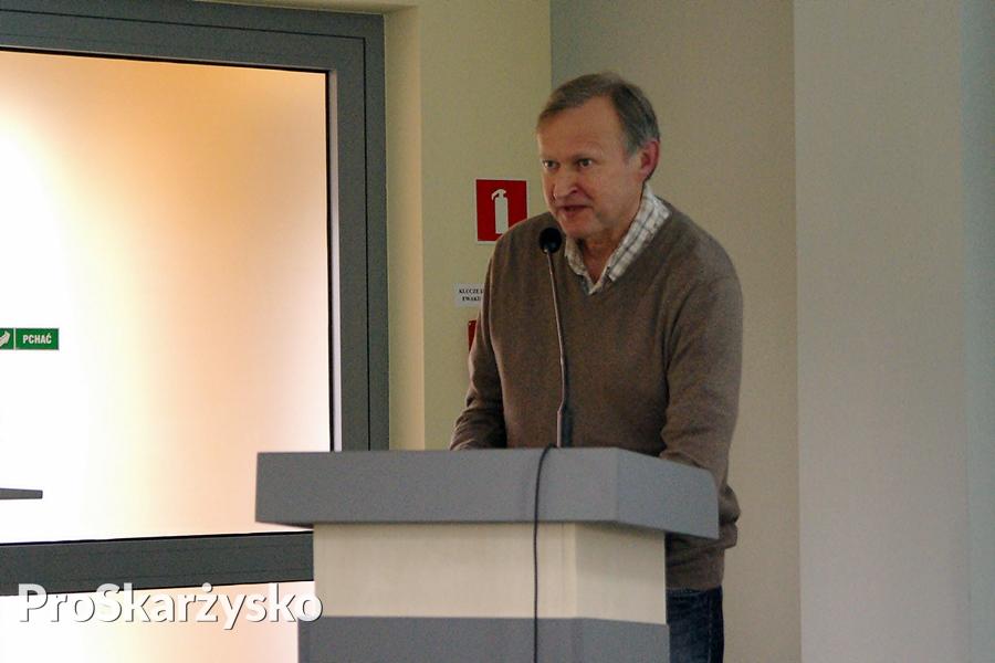 Dr Tadeusz Wojewoda - PTH, nauczyciel w szkole