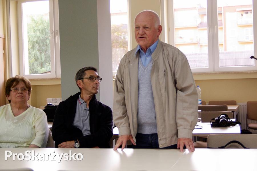 Tadeusz Kurek, były nauczyciel