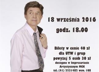 Jerzy Połomski - koncert - Skarżysko-Kamienna - Miejskie Centrum Kultury - konkurs z biletami