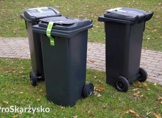 harmonogram wywozu odpadów skarżysko