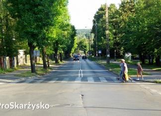 Ulica Piłsudskiego naprawa nawierzchni