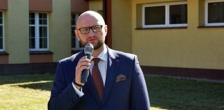Paweł Buryło - dyrektor II Liceum Ogólnokształcącego w Skarżysku (poprzednio dyrektor III LO)