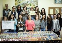 Akcja Kup Pan Szczotkę - II Liceum Ogólnokształcące im. Adama Mickiewicza (fot. Paulina Pietrzyk)