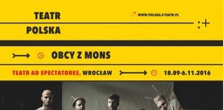 """Spektakl """"Obcy z Mons"""" - Miejskie Centrum Kultury"""