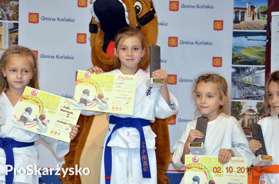 Skarżyski Klub Sportów Walki - Turniej Karate o Puchar z Żeliwa - Końskie