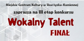 Konkurs Wokalny Talent - Miejskie Centrum Kultury - finał