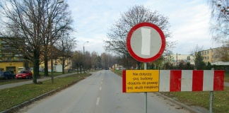 Rondo Sokola - Wiejska - budowa