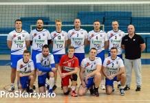 SAS Skarżysko - III liga siatkówki - sezon 2016-17 (fot. Z. Biber, fanpage SAS Skarżysko)