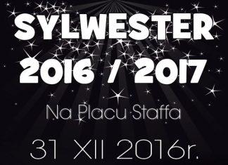 Sylwester i Nowy Rok 2017 - Plac Staffa - Skarżysko
