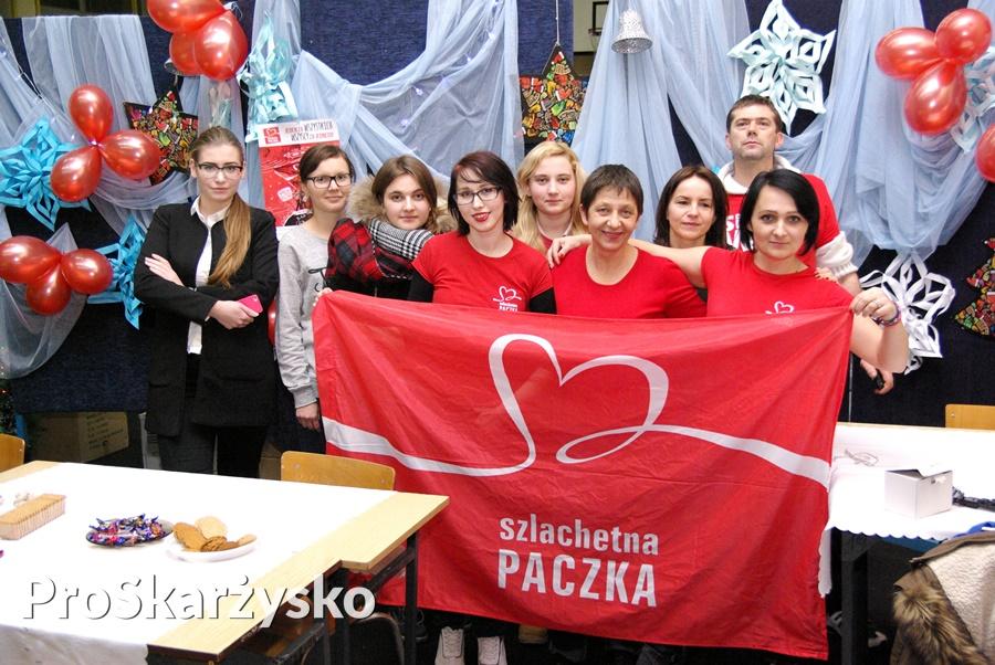 Szlachetna Paczka 2016 - finał - Skarżysko