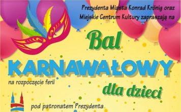 Bal karnawałowy dla dzieci - Magda Femme - Miejskie Centrum Kultury