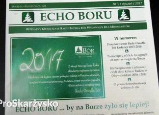 Echo Boru - czasopismo rady osiedla Bór