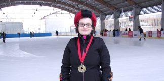 Świętokrzyskie Zimowe Igrzyska Olimpiad Specjalnych - łyżwiarstwo szybkie