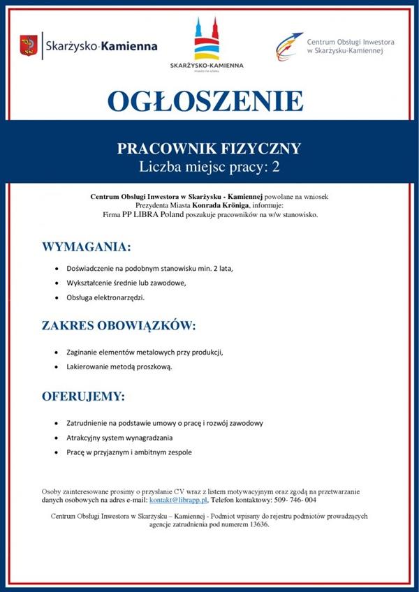 Praca Libra Poland