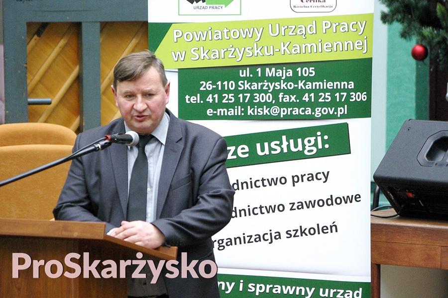 Roman Białek, dyrektor Powiatowego Urzędu Pracy w Skarżysku