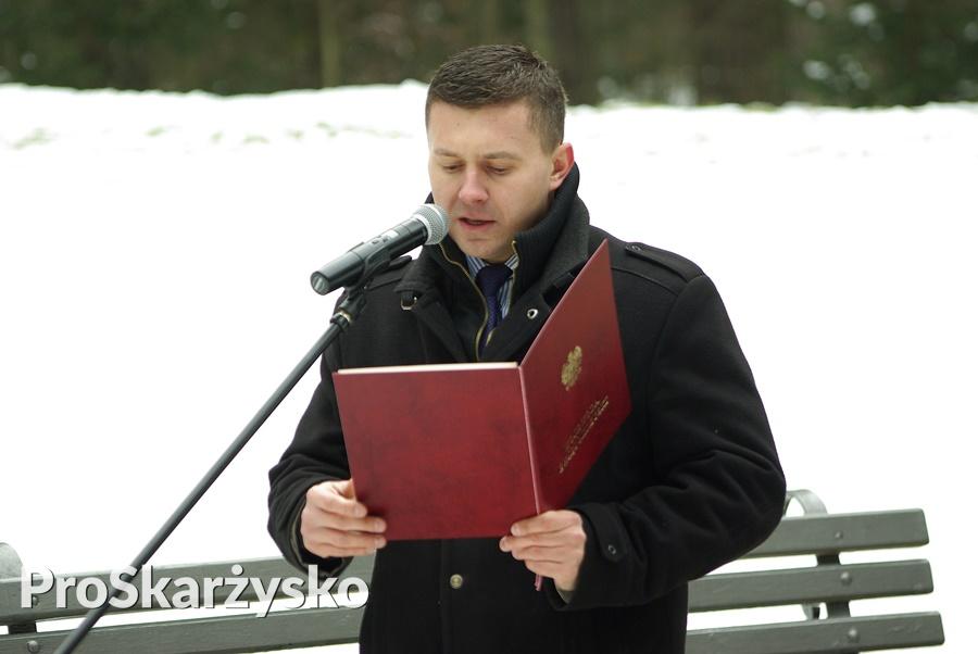 Marcin Piętak - 77. rocznica egzekucji - osiedle Bór