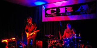 Eddie MArtin Blues Band - CBArt - koncert