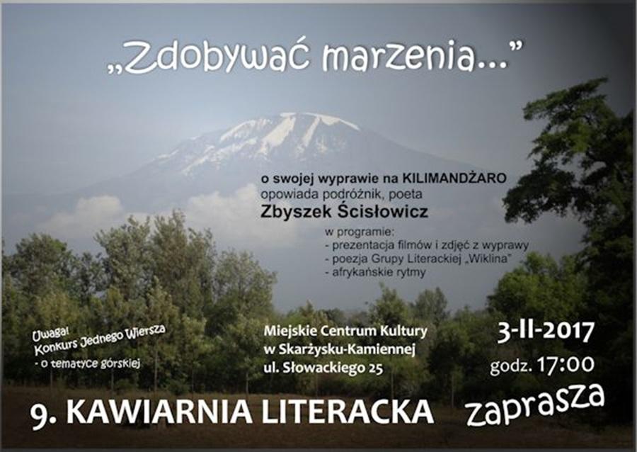 Kawiarnia Literacka MCK - Zbigniew Ścisłowicz - Zdobywać marzenia