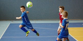 III Halowy turniej Piłki Nożnej - Ferie z Kamienną 2017