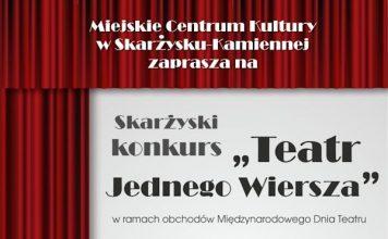 Konkurs Teatr Jednego Wiersza - MCK