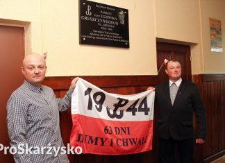 Ludwik Gruszczyński - tablica pamiątkowa - Szkoła Podstawowa 3