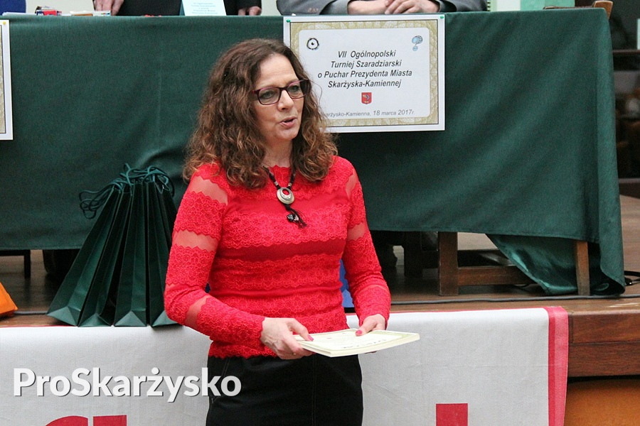 Katarzyna Tambor - VII Ogólnopolski Turniej Szaradziarski 2017 - Skarżysko-Kamienna