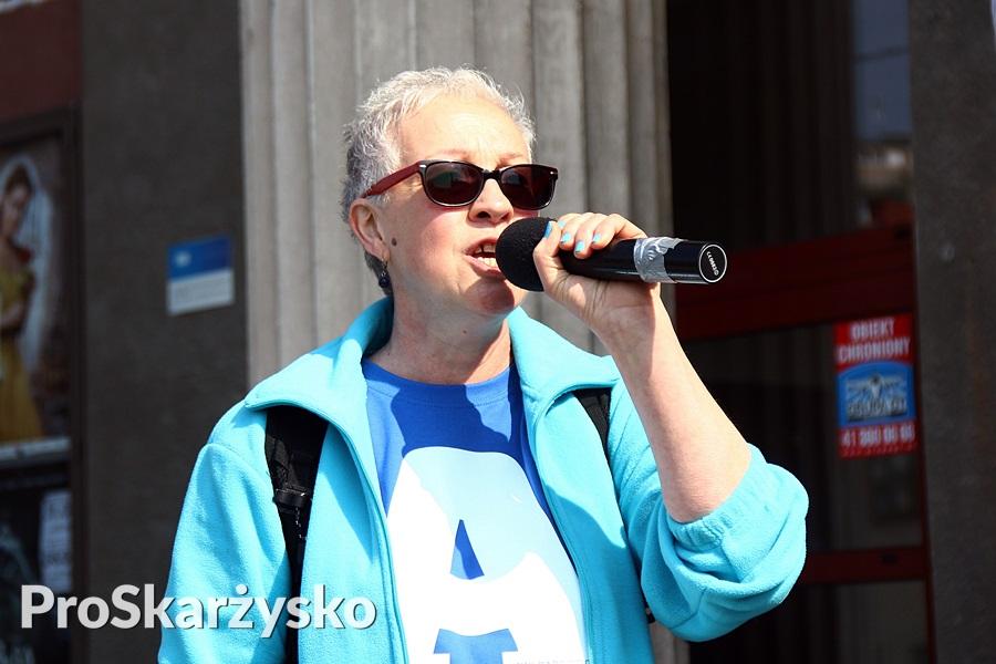 Jadwiga Laliczyńska-Babczyk - Blue Day - Niebieski Marsz - Skarżysko - 2017