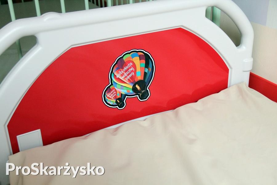 Wielka Orkiestra Świątecznej Pomocy - łóżka dla szpitala