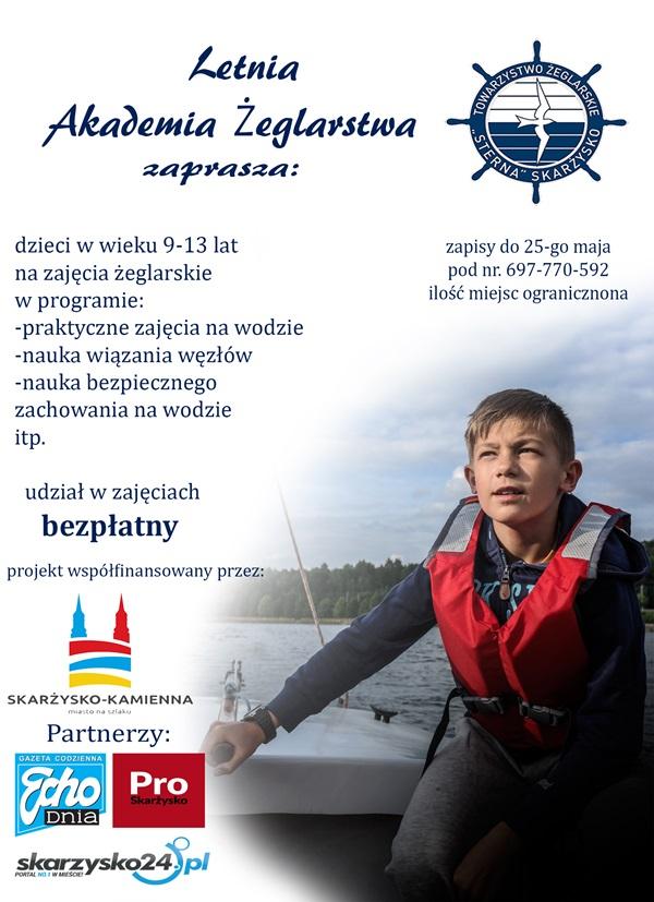 """Letnia Akademia Żeglarstwa - Towarzystwo Żeglarskie """"Sterna"""""""