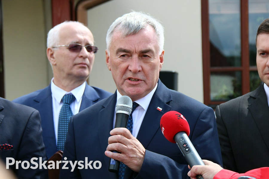 Wicewojewoda Świętokrzyski Andrzej Bętkowski