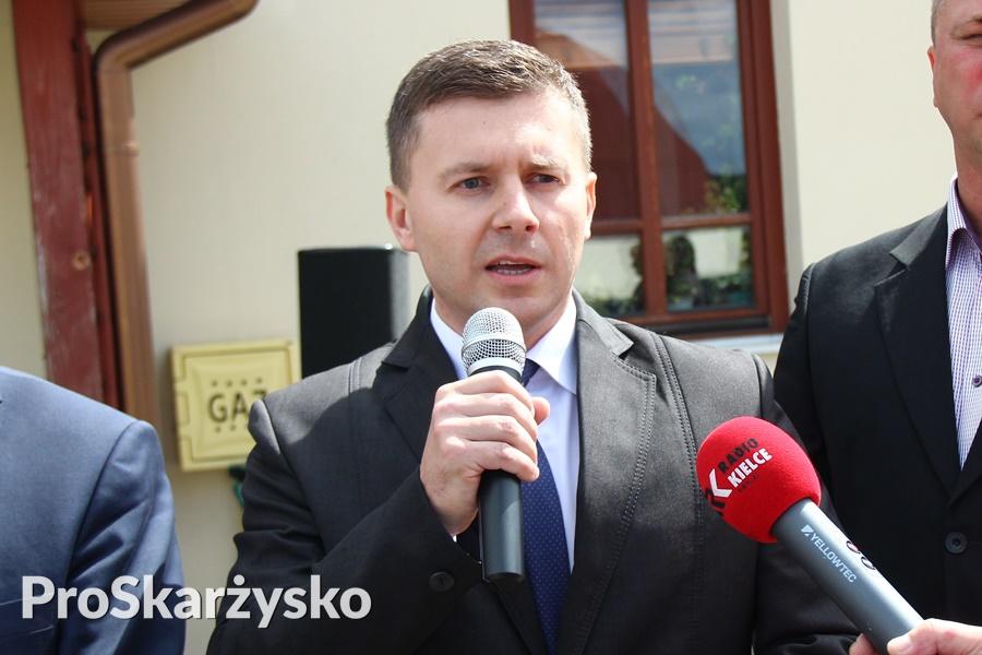 Radny rady miasta Marcin Piętak