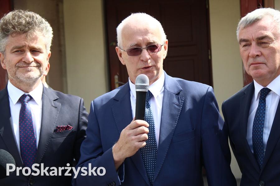 Dyrektor GDDKiA Kielce Krzysztof Strzelczyk