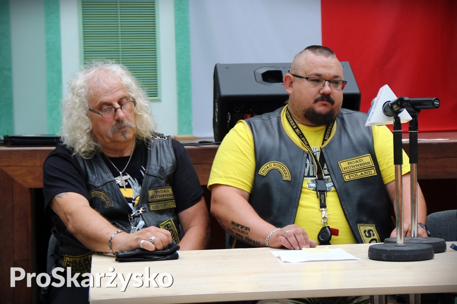 Zbigniew Sołtysik (z lewej) i Sylwester Woźniak, Road Runners MC
