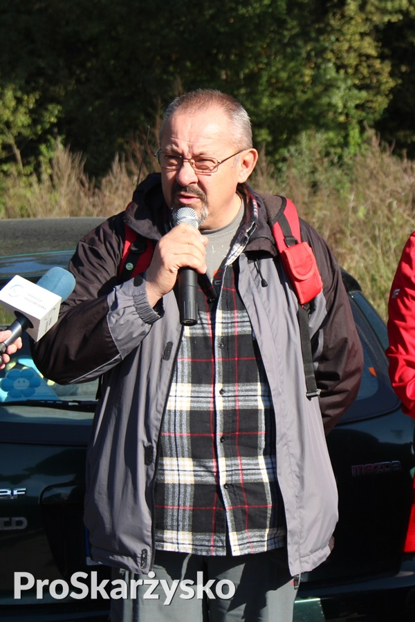 Jan Włodarczyk - prezes PTTK Skarżysko