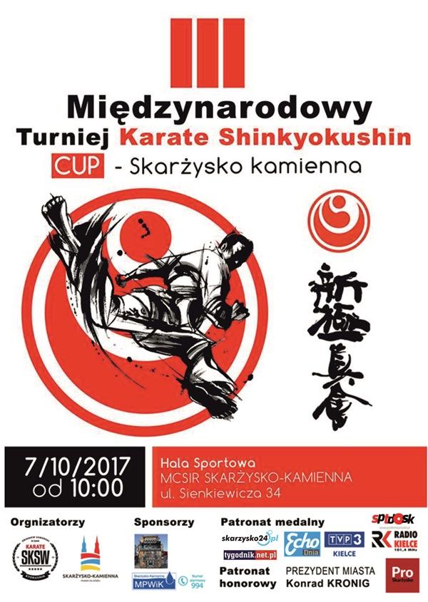 III Międzynarodowy Turniej Karate Shinkyokushin Skarżysko-Kamienna Cup 2017
