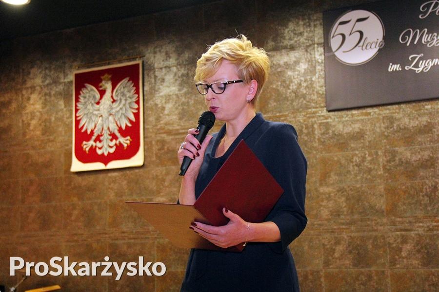 Ewa Krakowiak, dyrektor Państwowej Szkoły Muzycznej