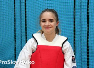 Oliwia Fornal karate
