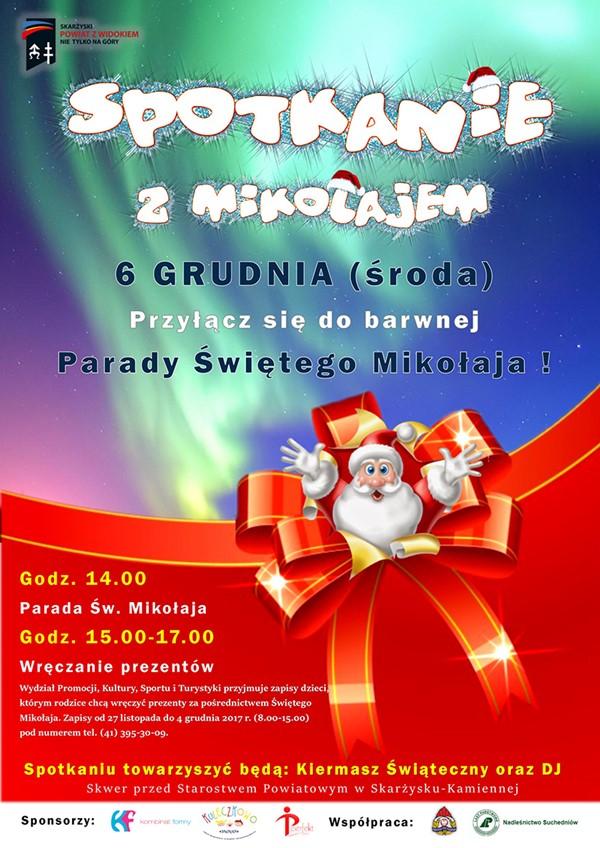 Spotkanie z Mikołajem 2017 - Starostwo Powiatowe w Skarżysku
