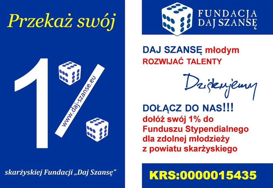 fundacja daj szanse 1 procent podatku