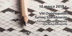 VIII Ogólnopolski Turniej Szaradziarski o Puchar Prezydenta Miasta Skarżyska-Kamiennej