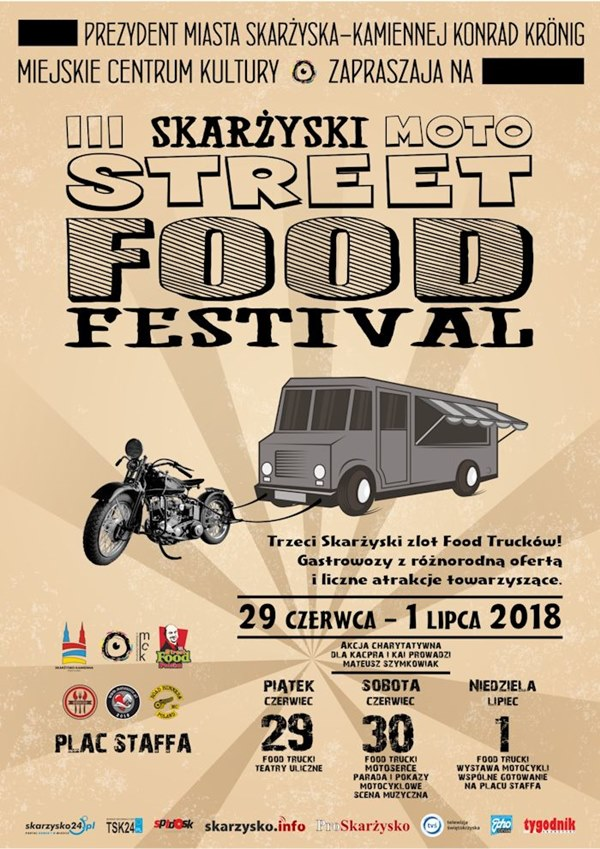 moto street food festival skarzysko 2018