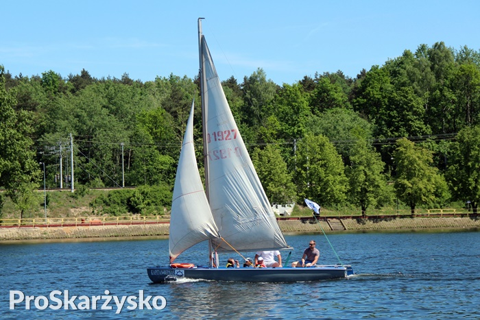Kapitan Bernas łódka Dla Skarżyska Przeszła Chrzest Proskarżysko