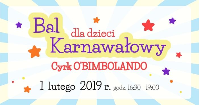 bal karnawalowy dzieci mck skarzysko 2019
