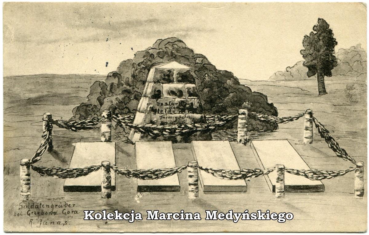 groby niemieckie grzybowa gora