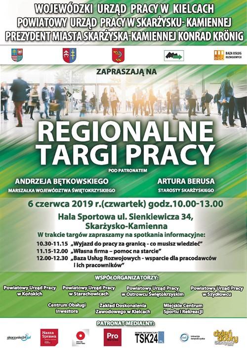 regionalne targi pracy 2019