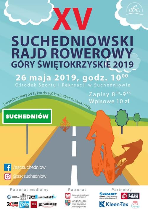 suchedniowski rajd rowerowy 2019